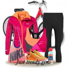 Sportswear in bright colors | Just Trendy Girls