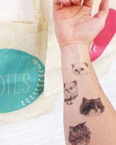 kitty tatts by Hello Harriet