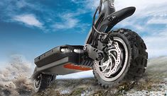 Dualtron is the brand of electrically powered off road scooters produced by the Korean company Minimotors. When it was launched in Dualtron was the first Off Road Scooter, E Scooter, Electric Scooter, Needful Things, Motorcycle, Bike, Vehicles, Art, Cars