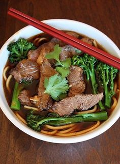 Taiwanese Spicy Beef Noodle Soup
