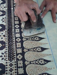 Blockprinting, Dr Ismail Khatri's, Gujarat