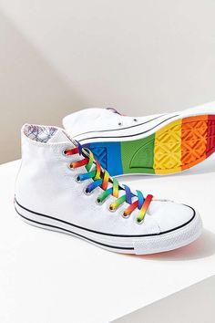 829bdd938b1 Converse All Star Pride #pridemonth Rainbow Converse, Rainbow Shoes, Pride  Converse, Converse