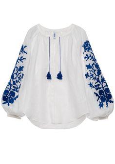 Adele linen blouse