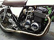 LEDAUT 2″x 50′ Twill Weave Motorcycle ATV Titanium Exhaust Heat Shield Wrap with 11.8″ Locking Ties (Pack of 15)