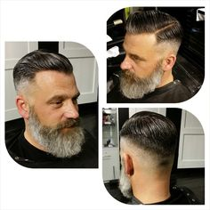 Nice beard, works well with the cut and side part