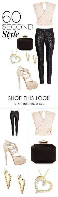 """""""lip sinc battle"""" by dsaylor1088 ❤ liked on Polyvore featuring River Island, Christian Louboutin, Alexander McQueen and Michael Kors"""