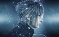 Herunterladen hintergrundbild noctis, 4k, charaktere, action, final fantasy xv