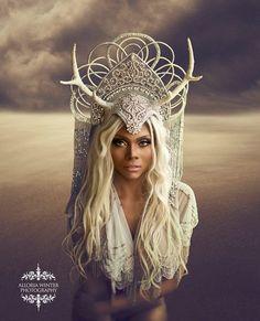 Photographer: Alloria Winter Photography Model: Porscha Headdress: Miss G Designs Styling: Rhiannon Panopoulos
