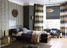 Working with neutrals from the Wabi Sabi wallpaper and fabric collection.