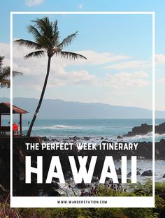 The ultimate 1-week itinerary for Oahu and Maui, including morning, afternoon, and evening schedules.  Sights of interest include: Waikiki Beach, Hanauma Bay, Pearl Harbor, Haleakala Crater, Hana Highway, and More!