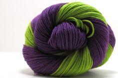 Shepherd Sock Yarn in Jungle Stripe by Lorna's by AdelaideYarn, $9.50