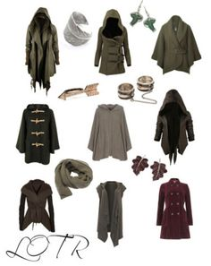 The Hobbit inspired outfits