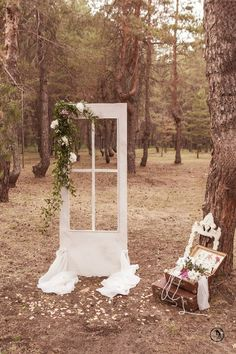 Shabby Chic Wedding Photos-  for guests and the bride & groom