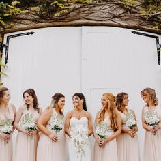 Charlotte and her maids looked INCREDIBLE at Friday's #northbrookpark wedding!