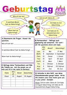 Germany For Kids, German Language, Teaching Kids, Education, School, Party, Languages, German Words, Learn German