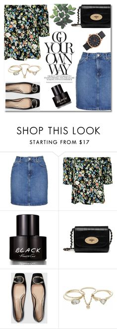 """""""Spring Floral and Flats"""" by truthjc ❤ liked on Polyvore featuring Topshop, Kenneth Cole, Mulberry, Gucci, Lipsy and Marc Jacobs"""