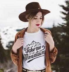 Take Me To The Mountains #style #fashion #streetstyle