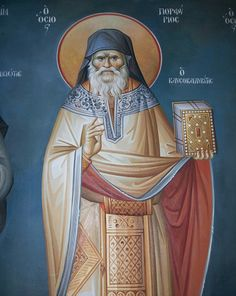 On Tuesday, November the Sacred and Holy Synod of the Ecumenical Patriarchate decided the formal inclusion in the List of Saints of the Orthodox Church of elder Porphyrios of Kafsokalivia and of venerable Meletios of Lardos. Lives Of The Saints, New Saints, Paint Icon, Byzantine Icons, Religious Images, Orthodox Christianity, Orthodox Icons, Ikon, Aurora Sleeping Beauty