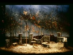 Love's Labours Lost. Scenic design by Joe Tilford.