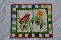 Sweet Birdie mini quilt