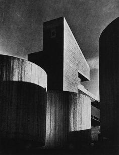 "fuckyeahbrutalism: "" Cement and Concrete Association Training Center, Fulmer-Grange, Buckinghamshire, UK, 1970 (Alex Gordon & Partners) """