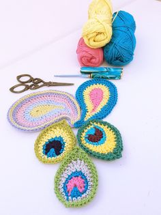 Peacock Motif with free pattern