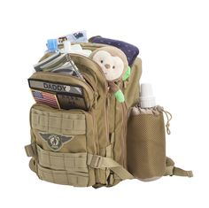 Every father knows how critical it is to be prepared and with this Pack you have all the compartments you need.