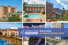 Choose Your Destination - 4 Days/3 Nights from $99 Las Vegas Vacation, Vacation Deals, Need A Vacation, Travel Deals, Travel Hacks, Travel Essentials, Budget Travel, Travel Tips, Cheap Family Vacations