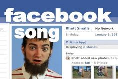"""Facebook Song - Rhett & Link.  This has been one of my favorite conversation starters for relative Facebook newbies for years now.  Rhett and Link have wonderful harmonies...and if you can relate to the """"old"""" Facebook layout, they're hysterically funny!"""