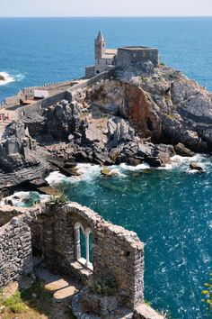 Saint Peter's church, Portovenere, Italy by Angelo Ferraris on 500px