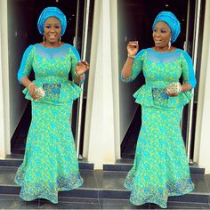 Aso Ebi Styles On Instagram Over The Weekend - Madivas