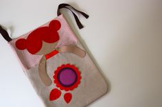 Baby pyjama bag by PinkNounou, via Flickr
