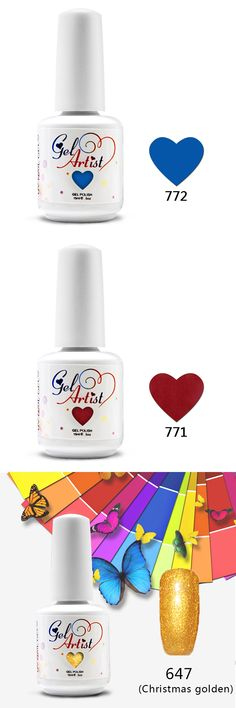12pcs Top Coat+Base Coat Kit IDO Gel Nail Polish Colors UV Gel Nail Polish varnishe nail(10colors+1top+1base)LED