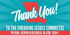 SJR39 has failed in Missouri. #SJR39