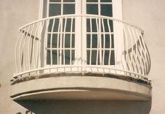 wrought white iron balcony railing - Google'da Ara