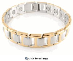 Magnetic Bracelet Stainless Steel Style #38