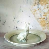 Frisbee Platter with hare