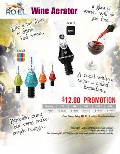 Wine Aerator Promotion