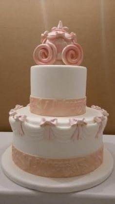 "Cinderella"" Carriage Cake"