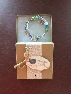 Packaging For Bracelet | Jewelry Packaging Box | Jewelry Packaging Tag | Sheila Meador | Jewelry Making Journal