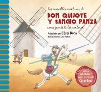 Las increíbles aventuras de don Quijote y Sancho Panza como jamás te las contaron /  adapt. C Bona, il. S Mateos - ED/Quijotes 2015/14 Cesar Bona, Team Teaching, Dom Quixote, Penguin Random House, My Photos, Family Guy, The Incredibles, Baseball Cards, My Favorite Things