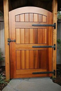 Shop for the Traditional Gate Drop Bar by Coastal Bronze and compare to other Gate Latches. Traditional style gate drop bar latches to keep gates closed while its solid bronze construction ensures that it will never rust. Wooden Gate Door, Wood Fence Gates, Wooden Garden Gate, Barn Door Hinges, Fence Doors, Garden Doors, Fences, Door Gate, Wood Doors