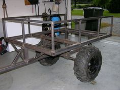 building off road atv trailer - Google Search