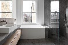 Complete refurbishment of a Vicorian house in Clapham. Victorian Terrace House, House Extensions, Bathtub, Standing Bath, Bath Tub, House Additions, Bathtubs, Tub