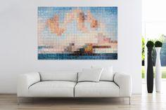 Öl Gemälde 'Kubischer Akt' 180x120cm