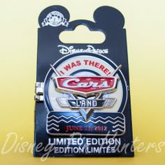 Disney DCA Re Grand Opening 2012 Cars Land I Was There Hinged Pin LE 2000