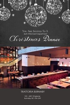 'Tis the time of the year to celebrate very soon! Bath Fitter Vancouver has started rolling all our Christmas events early!  This year, we are glad to announce that we will celebrate Christmas with our Event Department at our local Trattoria Restaurant.