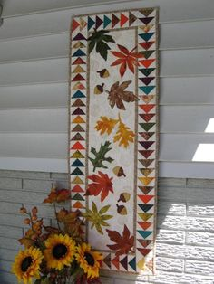 Autumn Flight Table Runner via Craftsy