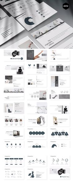 Deviation - Powerpoint Template by aqrstudio on Envato Elements Creative Presentation Ideas, Class Presentation, Presentation Design Template, Powerpoint Presentation Templates, Layout Template, Design Templates, Powerpoint For Mac, Free Powerpoint Presentations, Powerpoint Themes
