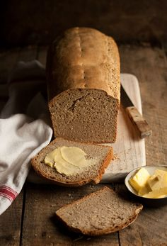 sourdough rye bread from a man in the kitchen | Drizzle and Dip